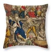 The Martyrdom Of St John Throw Pillow
