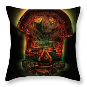 The Mask #2 Throw Pillow