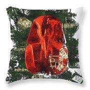 The Mask Of Tutankhamun Throw Pillow