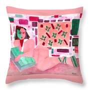 The Mask Throw Pillow