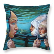 The Masqueradeum Throw Pillow