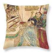 The Mass Of Saint Gregory Throw Pillow