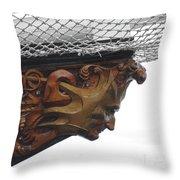 The Mast Head Throw Pillow