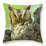 The Master Of Camouflage Throw Pillow