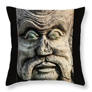 The Master Throw Pillow