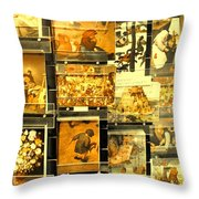 The Masters Reduced To This Throw Pillow