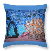 The Mastery Of Fear Throw Pillow