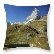 The Matterhorn Throw Pillow
