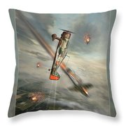 The May Days Throw Pillow