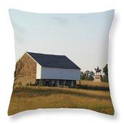 The Mcpherson Barn Throw Pillow
