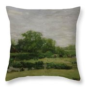 The Meadows Gloucester New Jersey 1883 Throw Pillow