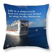 The Meaning Of Life Throw Pillow