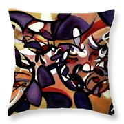 The Meditation Of Dreams Throw Pillow