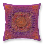 The Meditation Of Souls Throw Pillow