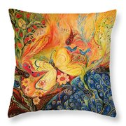 The Mediterranean Spring Throw Pillow