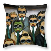 The Meeting Throw Pillow
