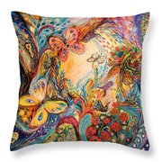 The Melancholy For Chagall Throw Pillow