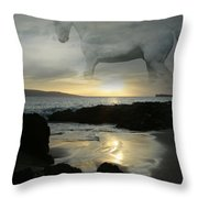 The Melody Of Love Throw Pillow