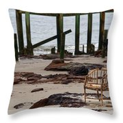The Melrose Chair Throw Pillow