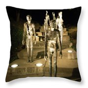The Memorial To The Victims Of Communism Throw Pillow