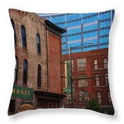 The Merchants Nashville Throw Pillow