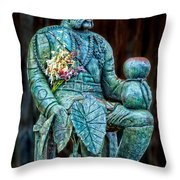 The Merrie Monarch Throw Pillow