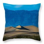 The Mesquite Dunes Throw Pillow