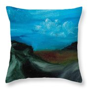 The Message Throw Pillow