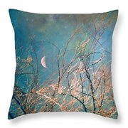 The Messy House Of The Moon Throw Pillow
