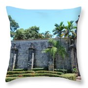 The Miami Monastery Throw Pillow