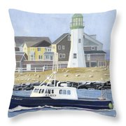 The Michael Brandon Throw Pillow by Dominic White