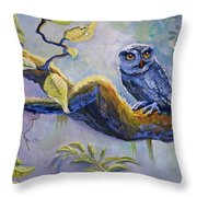 The Midnight Snack Throw Pillow
