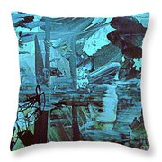 The Mighty Flood Throw Pillow