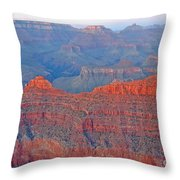 The Mighty Grand Canyon Throw Pillow