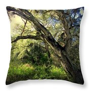 The Mighty Oaks Of Garland Ranch Park 1 Throw Pillow