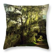 The Mighty Oaks Of Garland Ranch Park 2 Throw Pillow