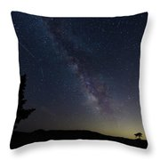 The Milky Way 1 Throw Pillow by Jim Thompson