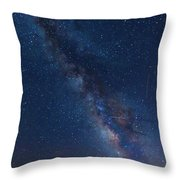 The Milky Way 2 Throw Pillow