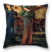 The Mill 1882 Throw Pillow