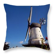 The Mill At Dybbol Throw Pillow