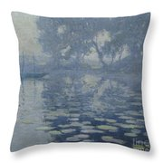 The Mill Pond Throw Pillow