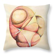 The Millenium Stone Throw Pillow