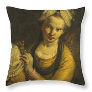 The Milliner Throw Pillow