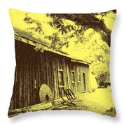 The Millwrights Shed Throw Pillow