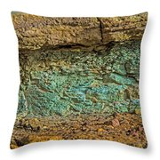 The Minerals Throw Pillow