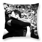 The Miracle At The Oracle 2 Throw Pillow