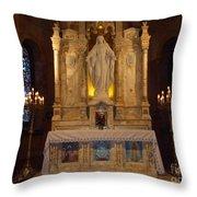 The Miraculous Medal Shrine 2 Throw Pillow