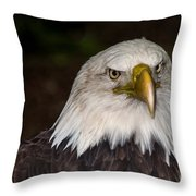 The Mission Comes First Throw Pillow