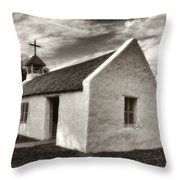 The Mission In Mission Throw Pillow