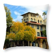 The Mission Throw Pillow
